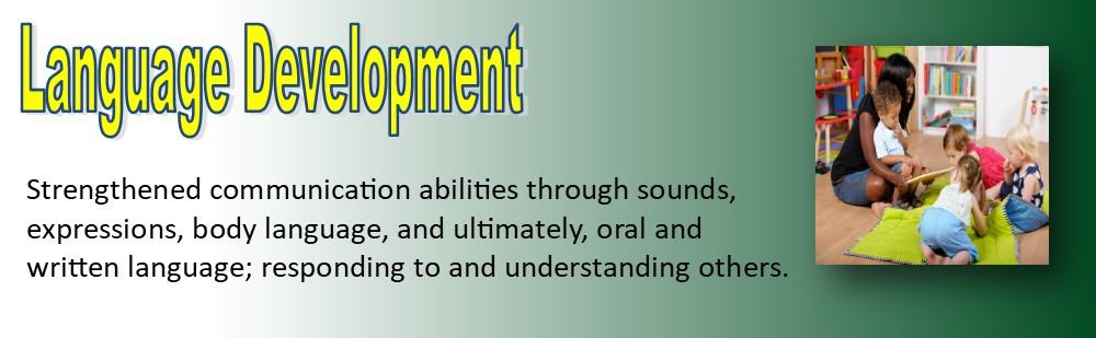 language development TODDLER banner