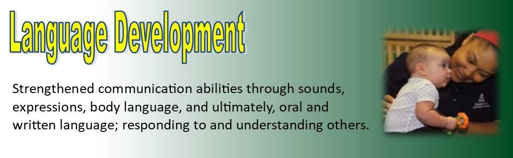 language development banner